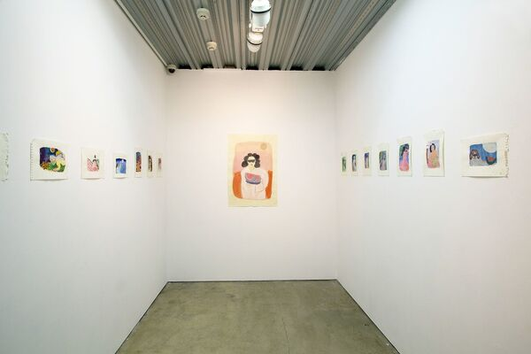 """Kate Groobey """"Pure Pleasure"""", installation view"""