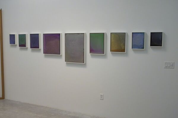 Spectral Dregs and Reflective Topographies, installation view