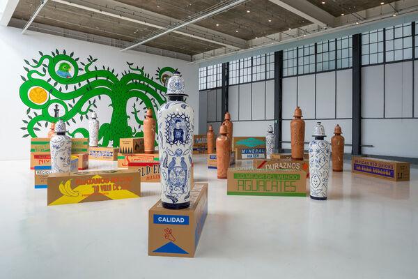 joségarcía ,mx at Material Art Fair, installation view