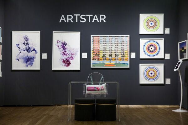 ArtStar at Affordable Art Fair New York Spring 2017, installation view