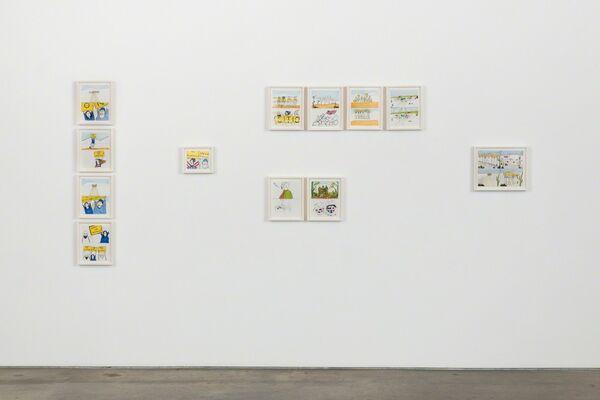 Yoshua Okón, installation view