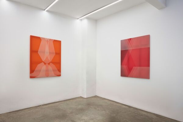 Rebecca Ward: silhouettes, installation view