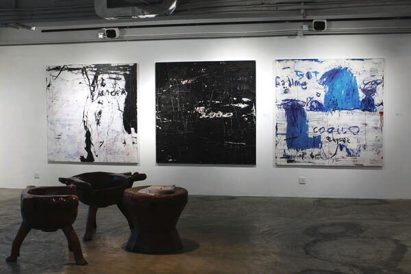 Dedy Sufriadi: Here Now, installation view
