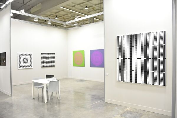 RCM Galerie at miart 2018, installation view