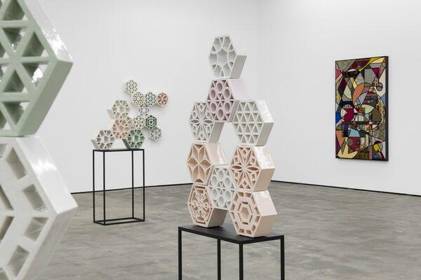 Nevin Aladağ - Muster, installation view