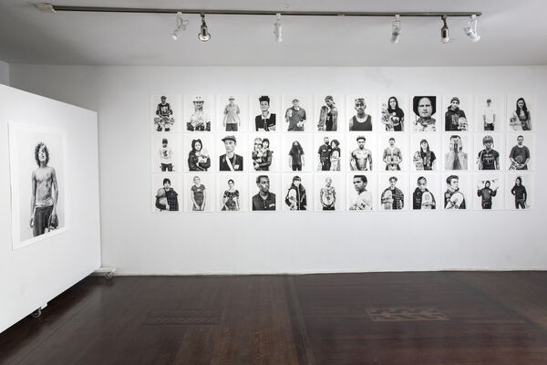 Skate-Homies, installation view