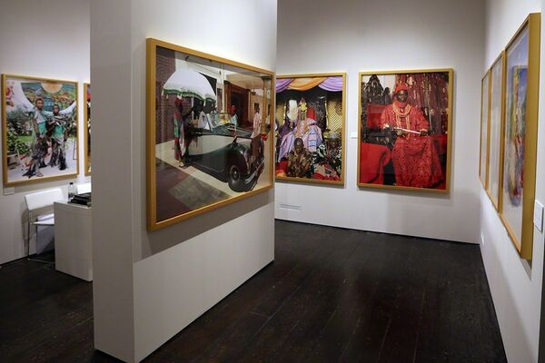 Nigeria Now: Rulers &Festivals, installation view