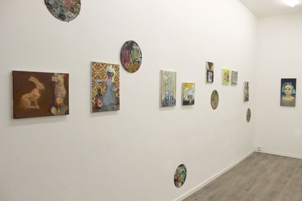 Hello, Friends, installation view