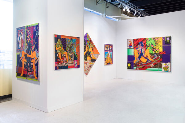 Denny Dimin Gallery at The Armory Show 2020, installation view