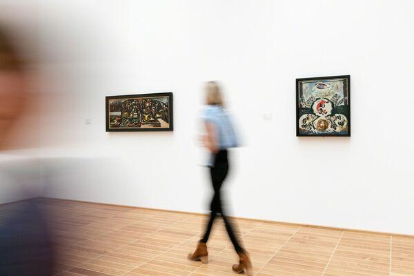 The Figurative Pollock, installation view