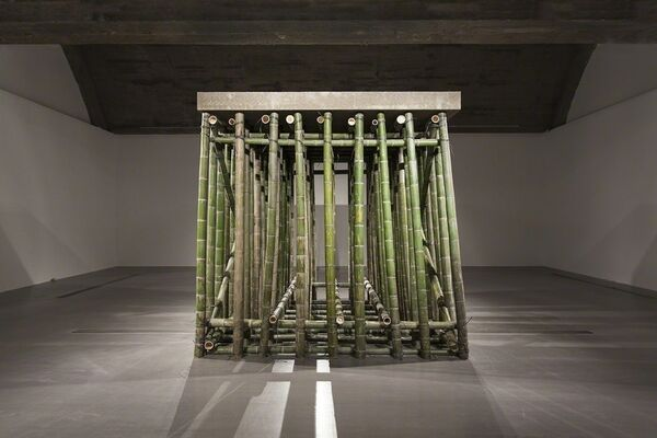 Xiao Yu: Cement Floor, installation view