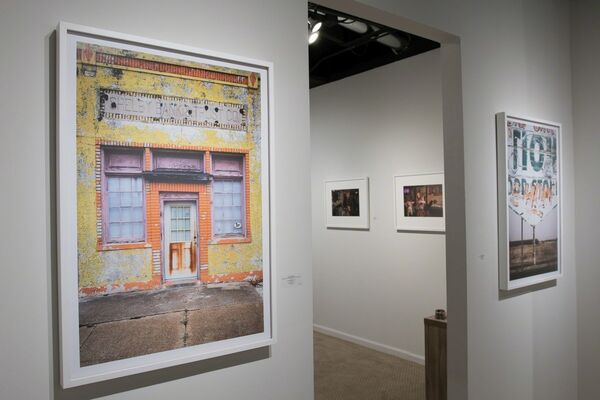 Late Harvest: On Back Roads in the Deep South, Photographs by Forest McMullin, installation view