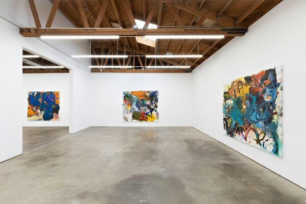 ANKE WEYER | PAINTINGS, installation view