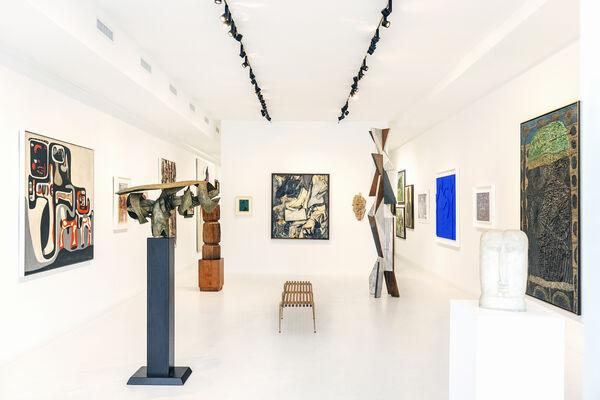 Montauk Highway III: Postwar Abstraction in The Hamptons, installation view