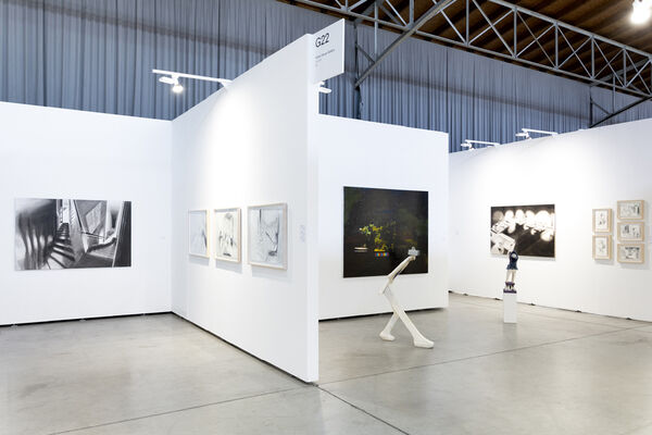 The White House Gallery at viennacontemporary 2018, installation view