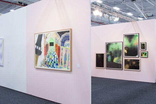 Shulamit Gallery at NADA New York 2015, installation view