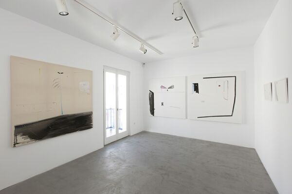 Almost Empty, installation view