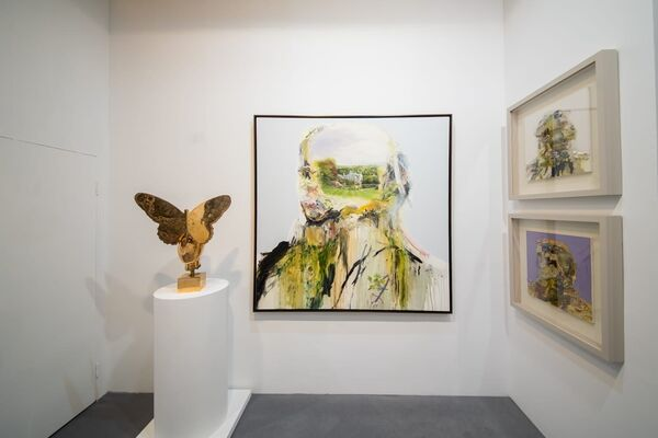 Opera Gallery at ART021 Shanghai Contemporary Art Fair 2019, installation view