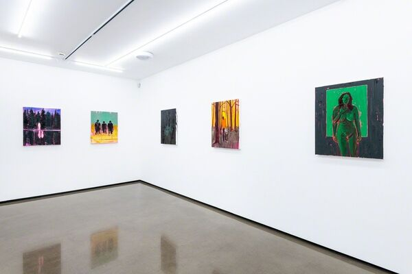 Kim Dorland: Terror Management Theory, installation view