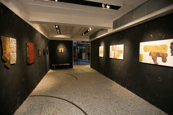 COMMITTED, installation view