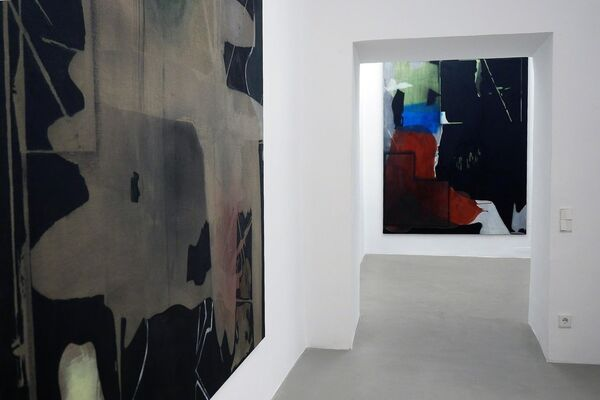 "Erwin Bohatsch ""Friends"", installation view"