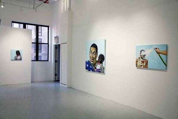 Michael Dixon: I, Too, Sing America, installation view