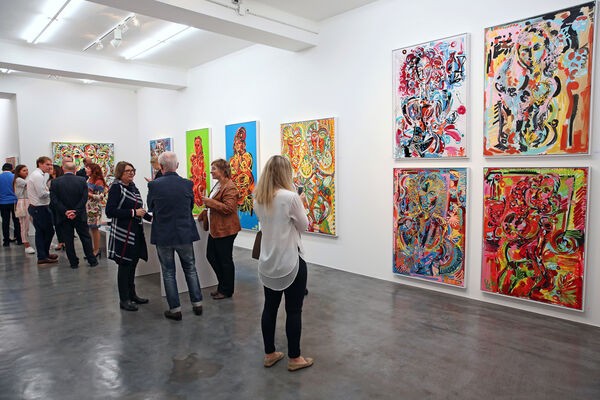 Leon Löwentraut - #Art4GlobalsGoals / Singles & Couples, installation view