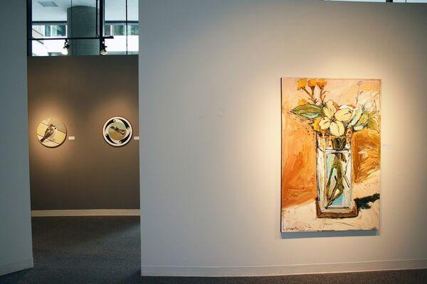 Birds & Bouquets, installation view