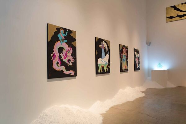 "TENMYOUYA Hisashi ""Kunitsukami"", installation view"