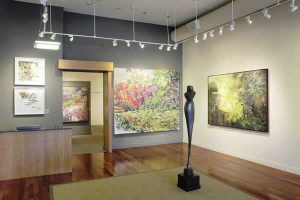 Heartwood, installation view