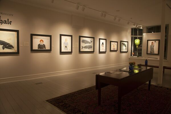 Scott Kelley | The Child's Book About Whales, installation view