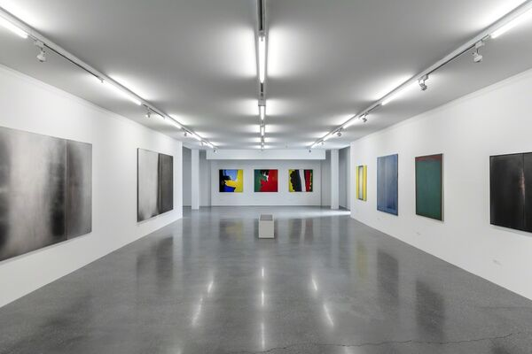 Rudolf Goessl – Painting in Transition, installation view