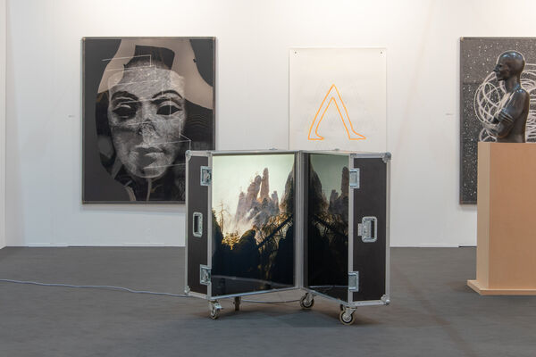 Brigitte March International Contemporary Art at art KARLSRUHE 2020, installation view