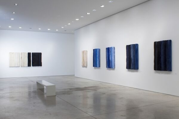 Blue take me to the end of all loves, installation view