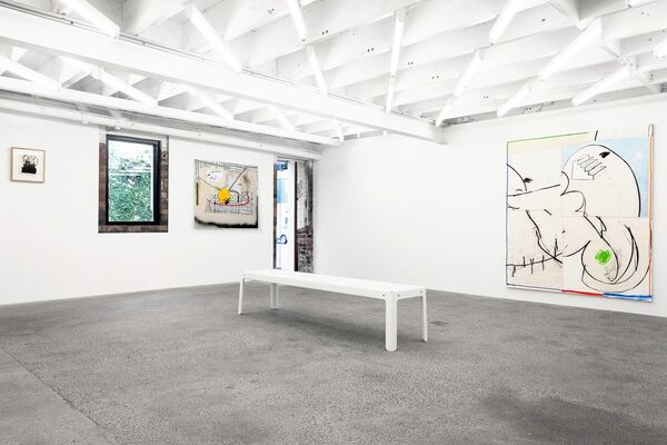 Who Ain't Got Time for Hickies, installation view