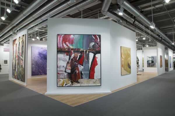 Pace Gallery at Art Basel 2016, installation view