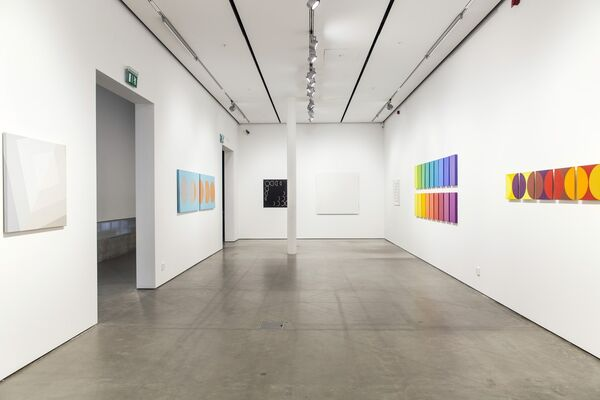 SIRI BERG, BLACK & WHITE & Works from the Exhibition at The Bonniers Konsthall Museum Stockholm, installation view