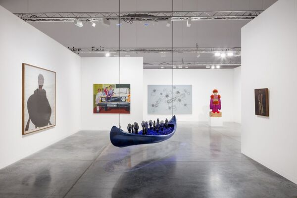 Roberts Projects at Art Basel in Miami Beach 2019, installation view