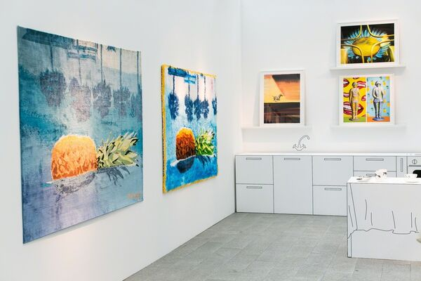 Shaltai Editions at Cosmoscow 2016, installation view