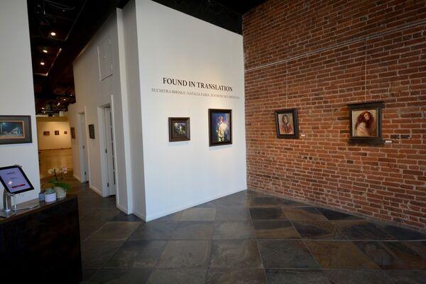 Found in Translation: Suchitra Bhosle, Natalia Fabia, and Jennifer McChristian, installation view