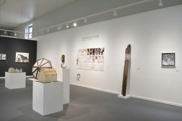 Dissolution, installation view