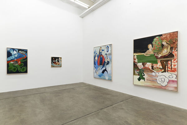 Rosa Loy | SUBSTANCES, installation view