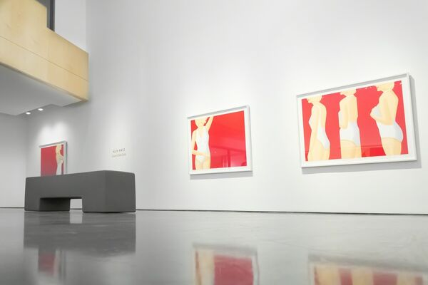 """Alex Katz - """"Coca Cola Girls"""", installation view"""