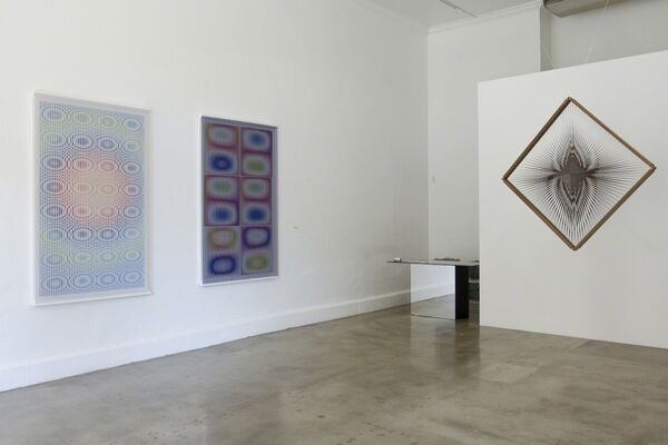 Alberto Biasi: Op Art, installation view