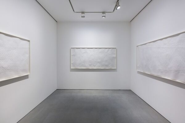 Evan Roth: Voices over the Horizon, installation view