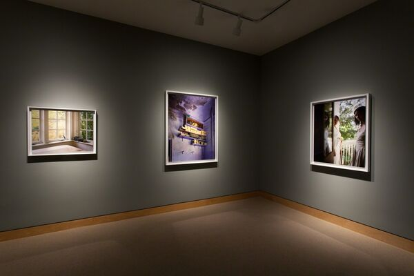I Know How Furiously Your Heart Is Beating, installation view