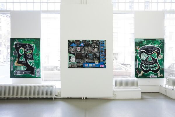 The King of F-ing Everything, installation view