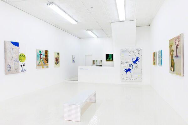 """""""Loose Parts"""" by Antone Könst & Clayton Schiff, installation view"""