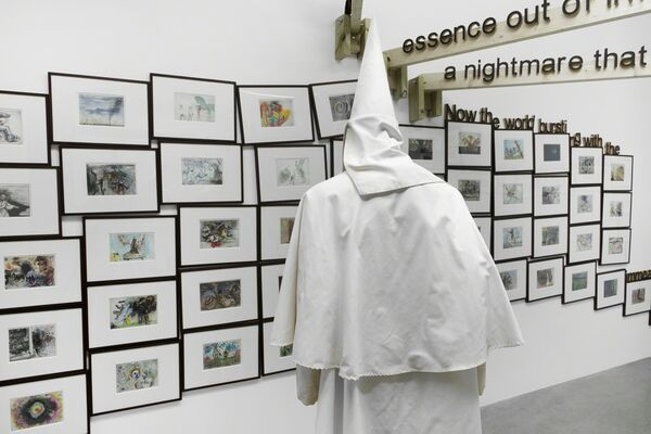Back to the end of the beginning of the end again., installation view