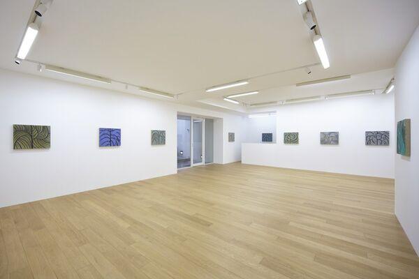 "Benjamin Butler ""Trees Alone"", installation view"